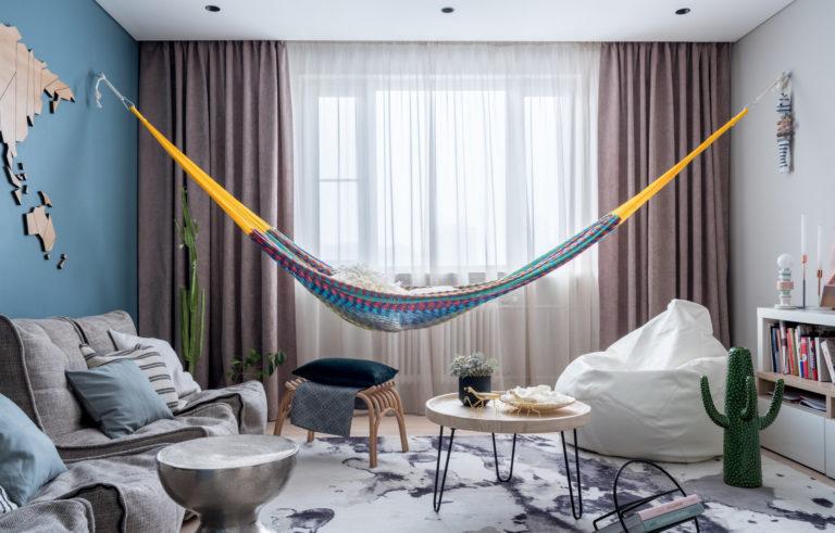 Гамак у Вас дома, интересное дизайн-решение